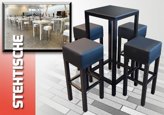 KlappBar, mobile Theken, mobile Bars, zusammenlegbare Bars, Stehtische, Barhocker, Gastronomieeinrichtung